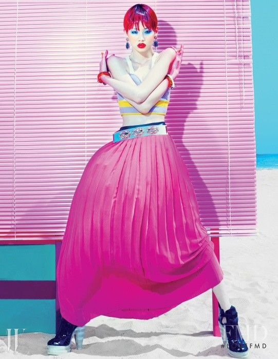Jung Ho Yeon in W Korea with HoYeon Jung - (ID:35332) - Fashion Editorial | Magazines | The FMD #lovefmd