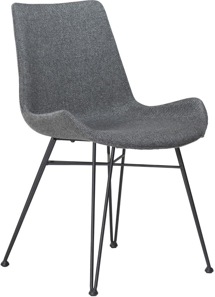 Hype stoel grijs - Dan-Form