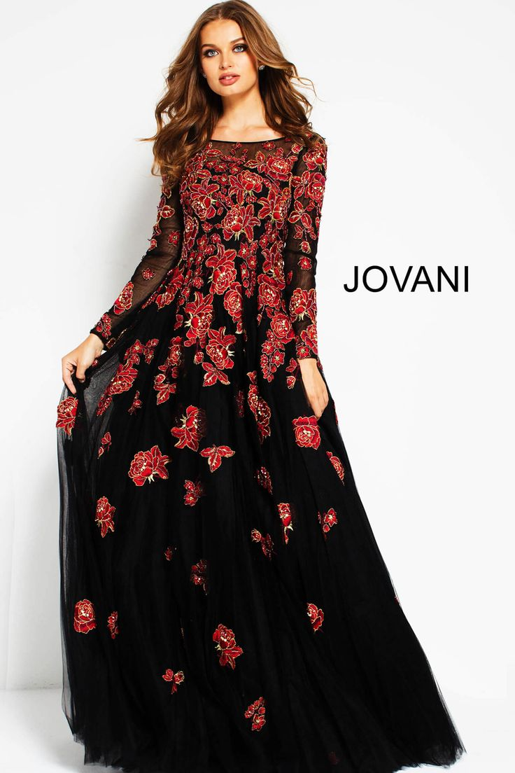 20 best Embroidered Dresses by Jovani images on Pinterest | Ball ...