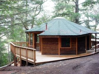 california yurts