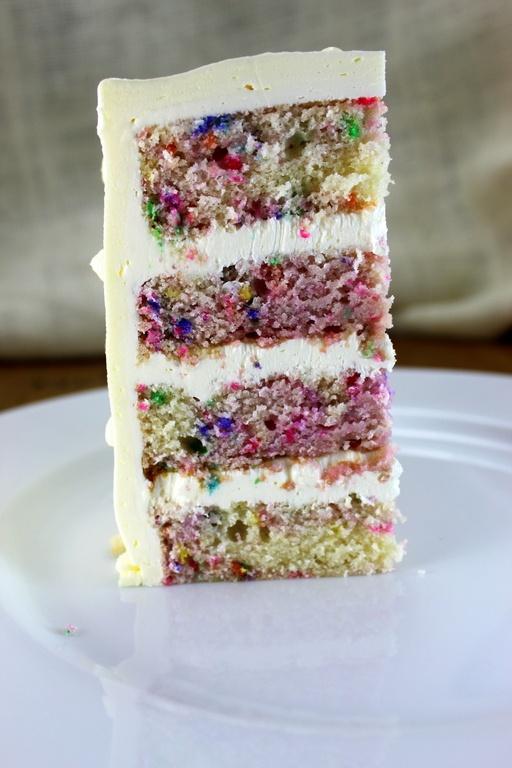 Funfetti Wedding Cake Someday Nicole