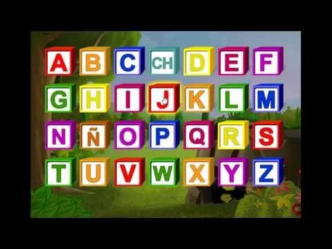 Learn Spanish for kids - Learning Spanish for children - Spanish Alphabe...