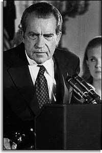 August 8, 1974: President Richard Nixon resigns from the presidency as a result of the Watergate scandal.