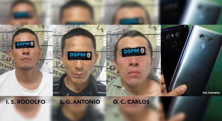 Detienen a 3 sospechosos de asalto a transeúntes   El Puntero