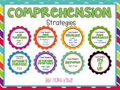 FREE Comprehension Strategies!