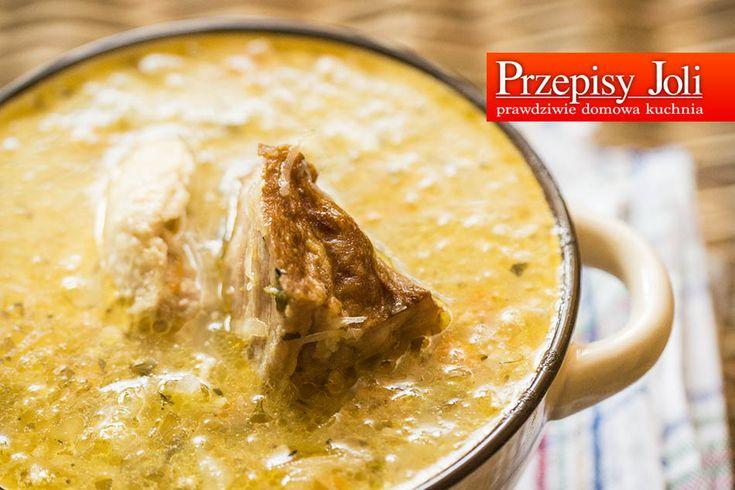 GÓRALSKA KWAŚNICA - mój mąż pochodzi z gór i jak prawdziwy góral uwielbia kwaśnicę. Polecam, bo to naprawdę wyśmienita zupa.