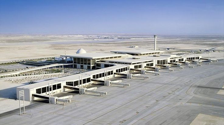 ‪#‎Didyouknow‬ ‪#‎LargestAirport‬ World's largest airport with respect to land area of 78000 ha King Fahd International Airport has been located in northwest of Dammam, Saudi Arabia. ‪#‎Carveraviation‬
