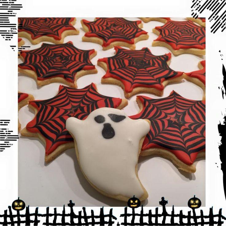 Cookies Vaniljekjeks Royal Icing Halloween