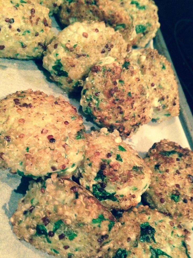 Turkey & quinoa meatballs by estheramigo