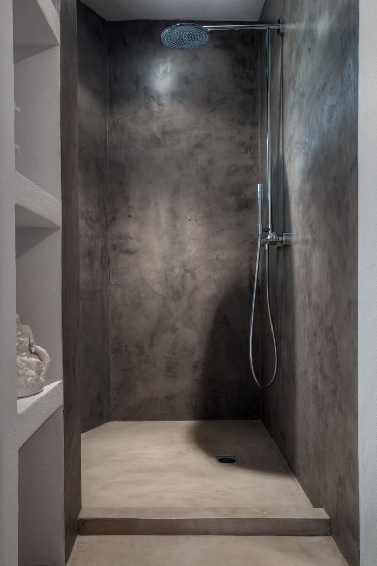MIcro cement shower, by True Ibiza