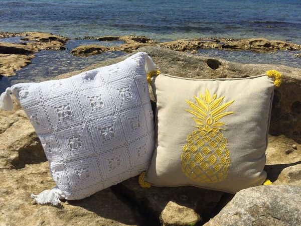 PHOTOGRAPHY… ON THE ROCKY POOL – Tropical Grace #cushion #rocky #pool  www.tropicalgrace.com