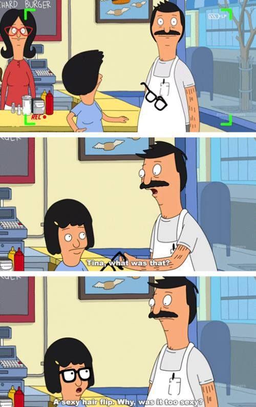 Tina from Bob's Burgers. Love her!!!
