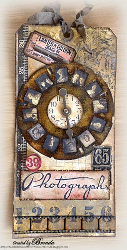 Bumblebees and Butterflies: tim holtz Picture Wheel die http://bumblebeesandbutterflieswithbrenda.blogspot.co.at/2013/03/photographs-vintage-picture-wheel.html