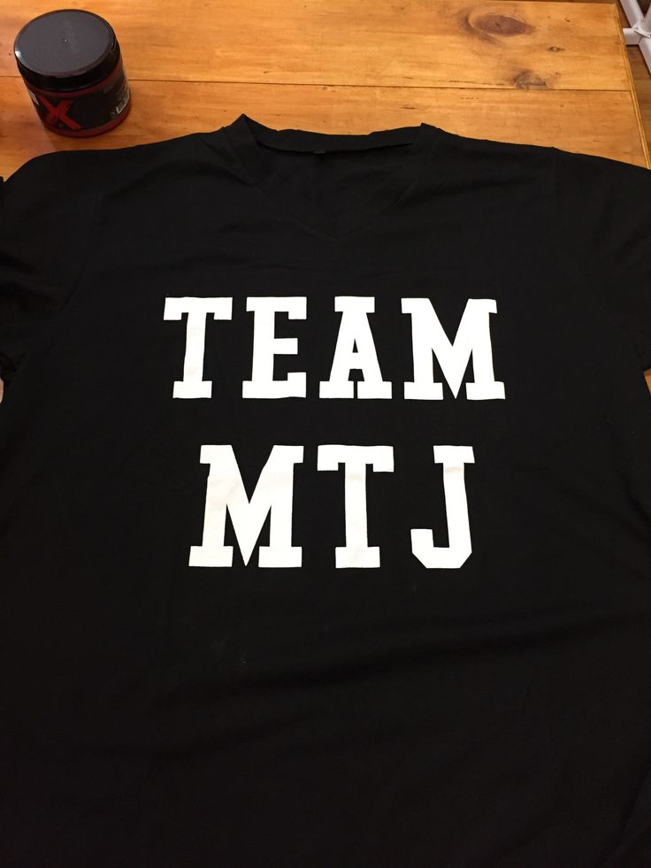 NEW! Team MTJ Shirts- prefect for general wear or to train in!!!!