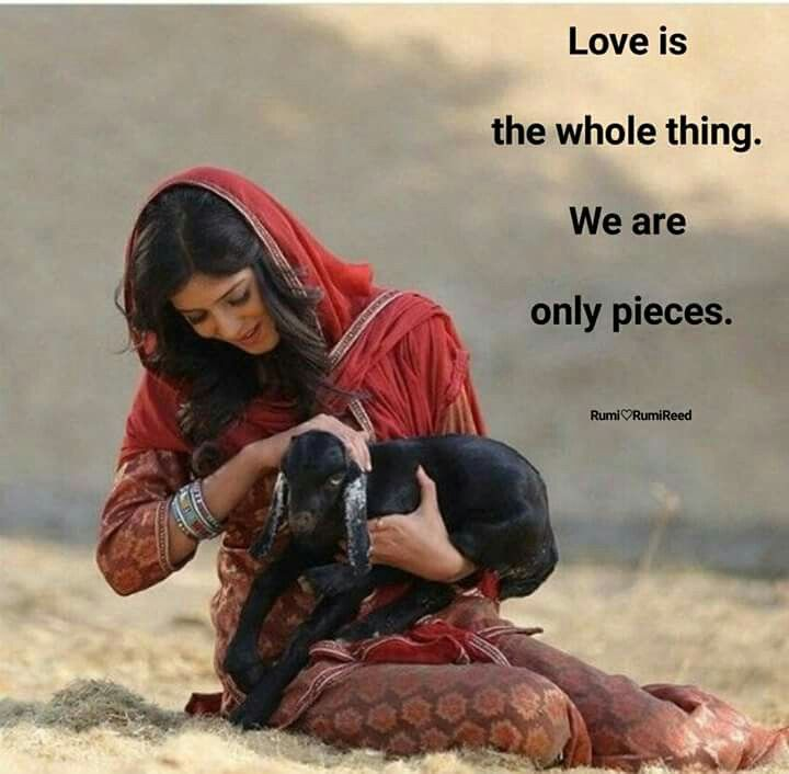 Love & being..
