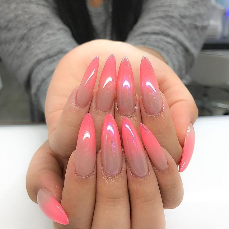 Beautiful French Nail Art Designs: Best 25+ Coral Acrylic Nails Ideas On Pinterest