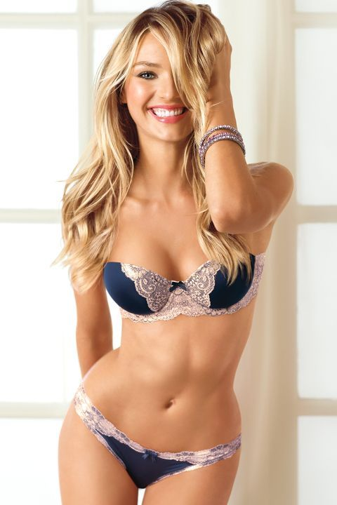 Victoria Secrets - Lingerie something blue? will the back work with the dress??