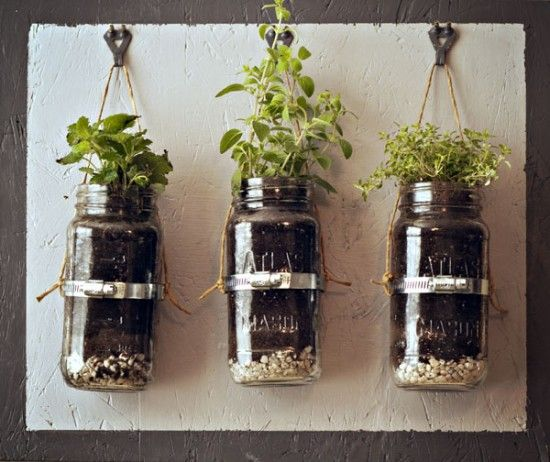 Herb garden wall art