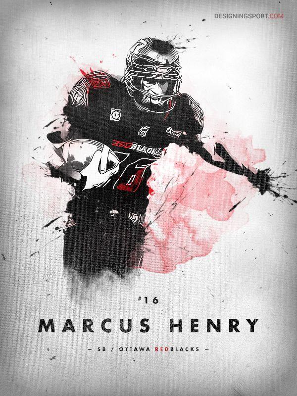 Marcus Henry, Ottawa REDBLACKS