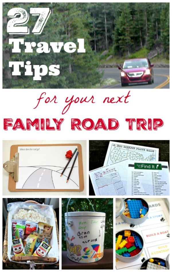 Great tips & activities for Road Trips with Kids! Also easy ways to keep the car organized with all that kid stuff :)