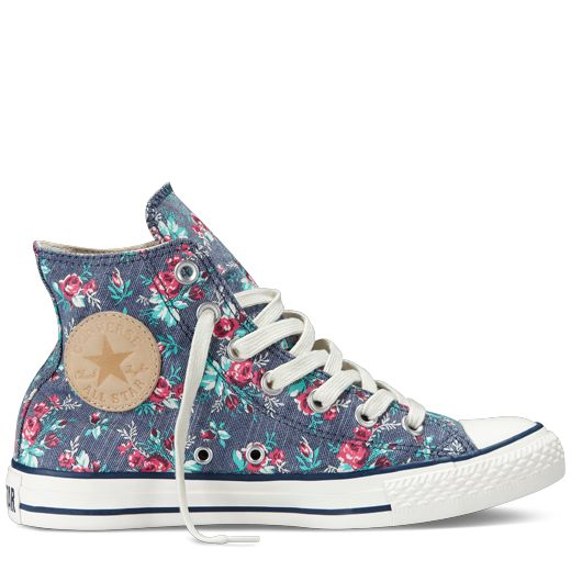 Chuck Taylor Converse Floral High-Tops | Chucks ...