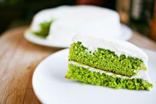 GREEN VELVET CAKE | Lucky Leprechaun | Pinterest | Mouths, Curtains ...