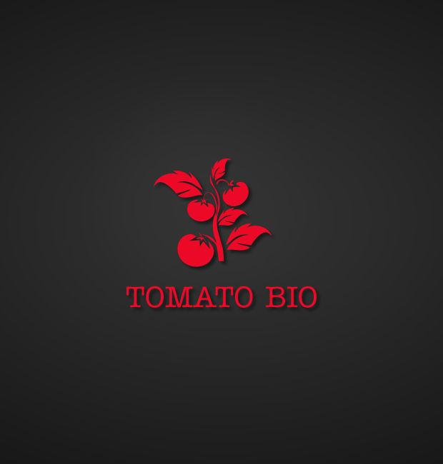 Logo : tomato bio box
