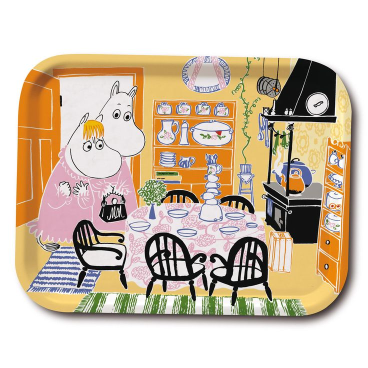 Moomin kitchen tray 43x33cm - The Official Moomin Shop