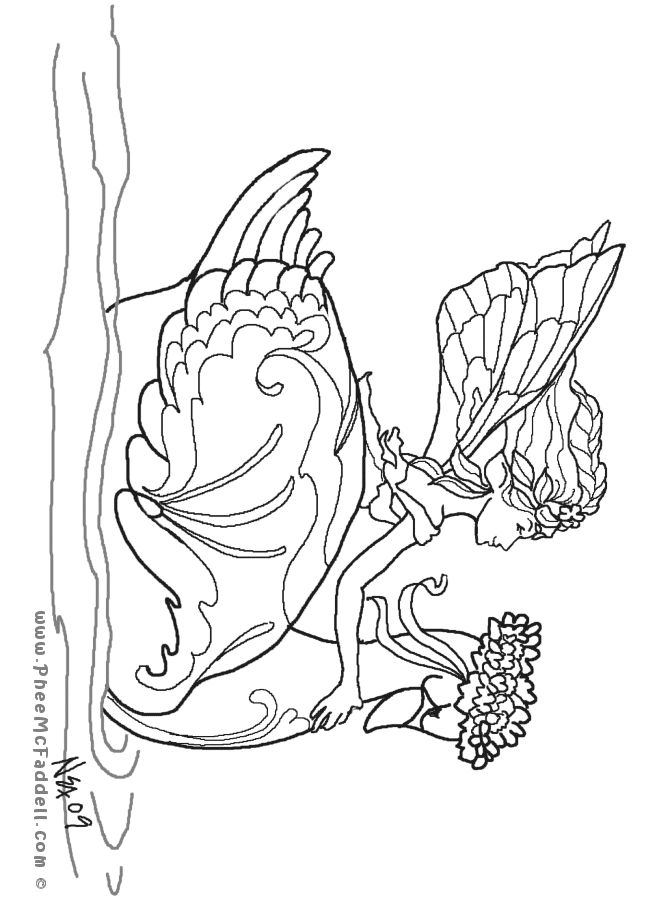 free mystical coloring pages - photo#18