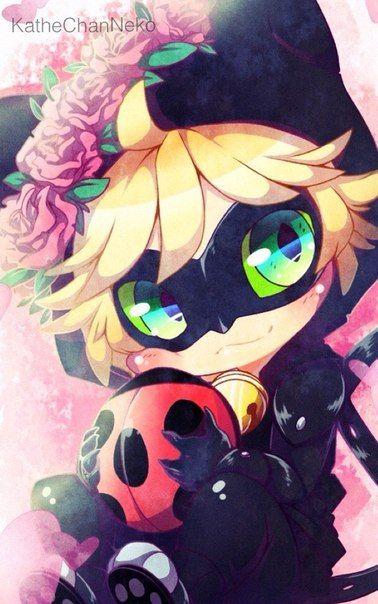 Cute Chibi Chat Noir! (Miraculous Ladybug)