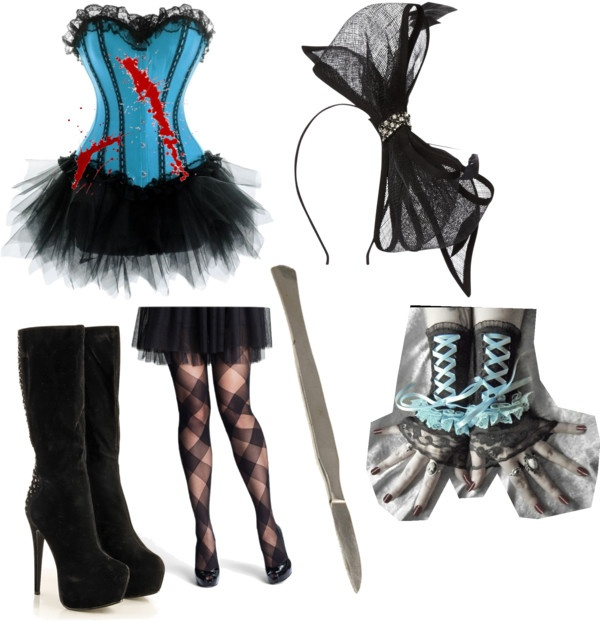 """creepypasta"" by slender-girl ❤ liked on Polyvore"