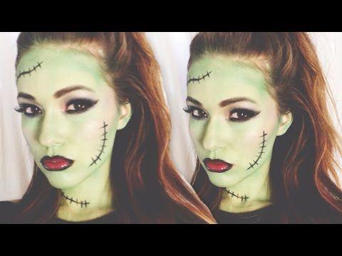 frankenstein halloween makeup tutorial cartooncreative co