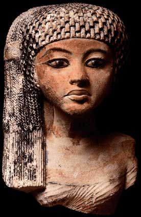 "Princess Meritaten, King Tut's sister Ahkenaten's daughter Meritaten also spelled Merytaten or Meryetaten (14th century BC) was an ancient Egyptian queen of the eighteenth dynasty, who held the position of Great Royal Wife to Pharaoh Smenkhkare, who may have been a brother or son of Akhenaten. Her name means ""She who is beloved of Aten""; Aten being the sun-god her father worshipped; Meritaten also may have served as pharaoh in her own right under the name,"
