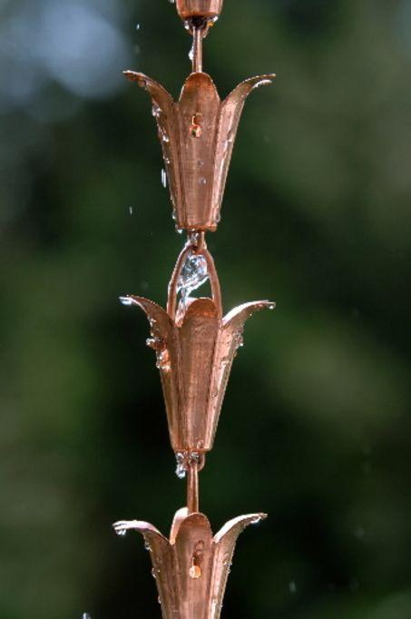 20 Creative DIY Rain Chains http://blog.oregonlive.com/homesandgardens/2007/12/howto_make_a_rain_chain.html