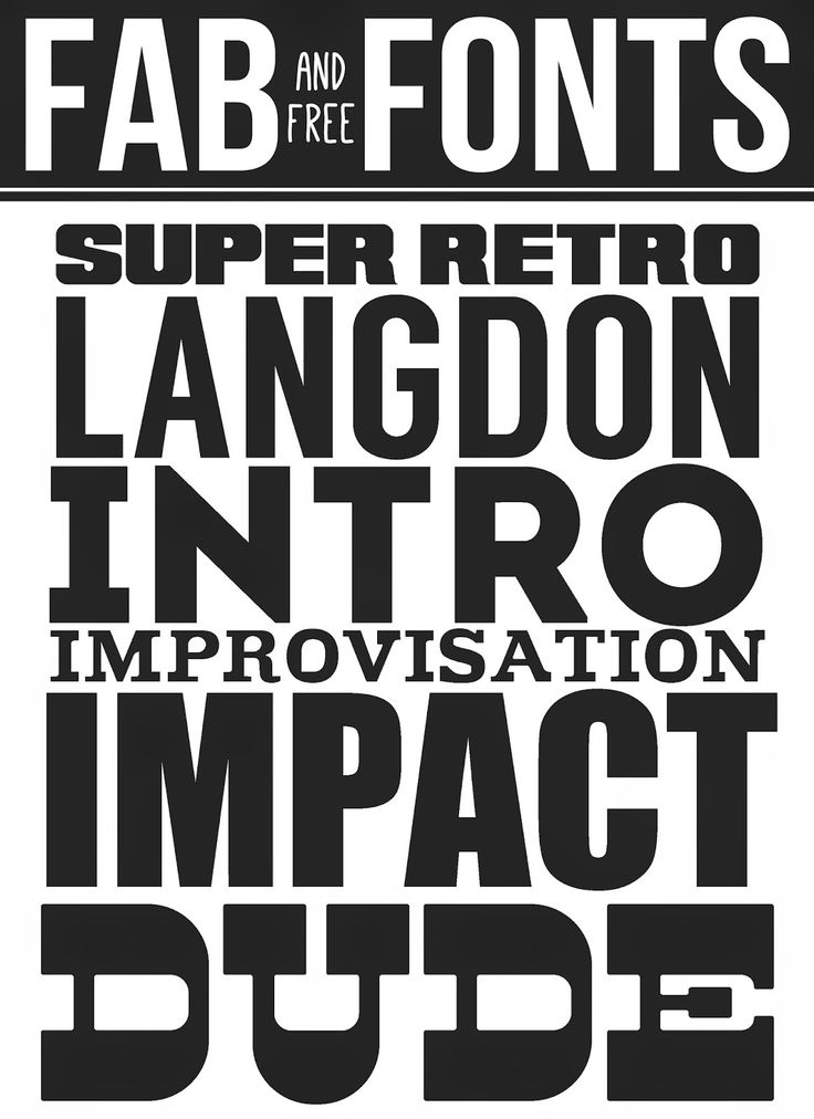 C&D - Improvisation. Fab Fonts - eighteen25