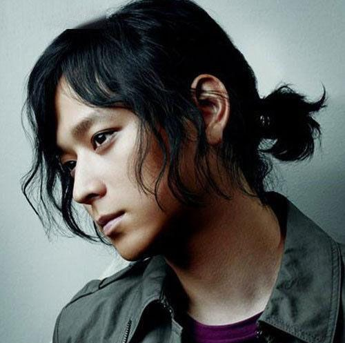 Asian Men Hairstyles - The Long Hair Ponytail                                                                                                                                                                                 More