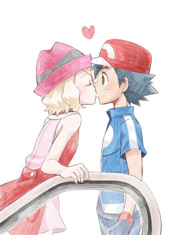 Amourshipping kiss #episode47