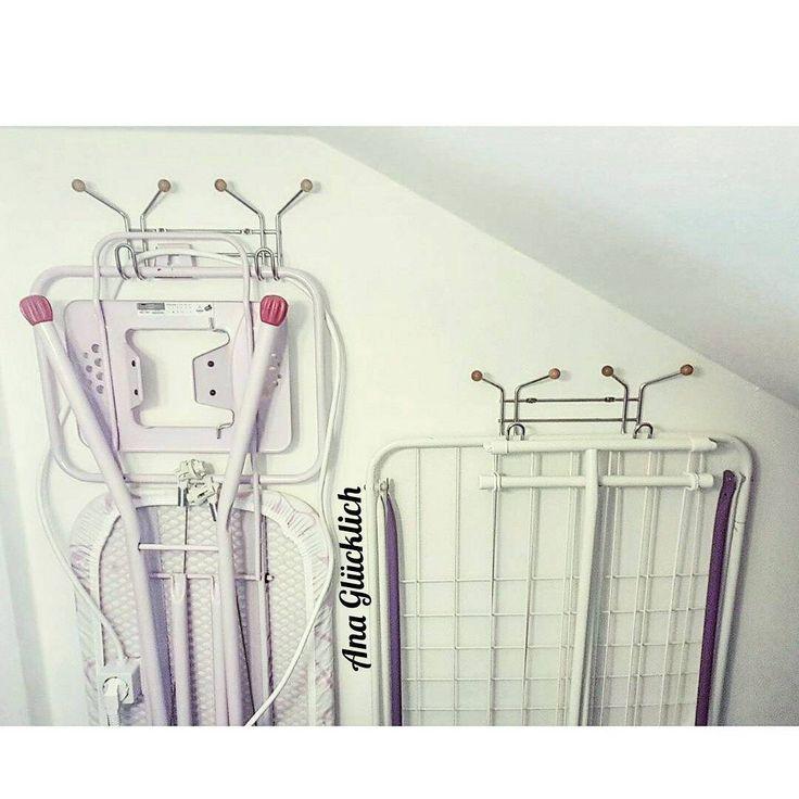 71 отметок «Нравится», 21 комментариев — Ana Glücklich (@ooo.at) в Instagram: «Хранение гладильной и сушильной досок.  Жили мои доски 2 года в гостинной за дверью , мешались,…»