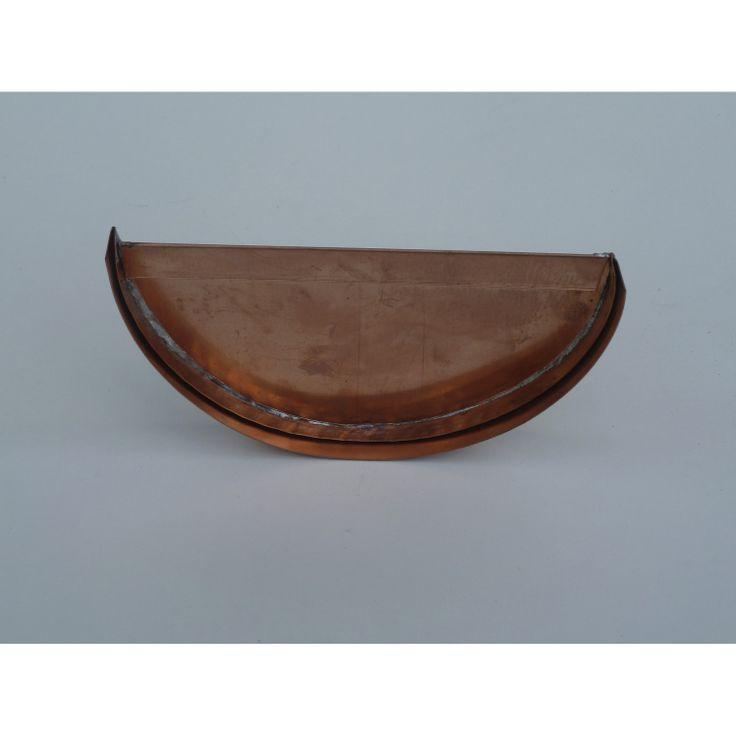 Talon emboîtable reversible gouttière galva développé 33cm cuivre SCOVER PLUS