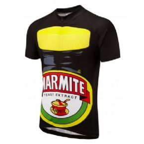 Foska Marmite Gib S/s Cycling Jersey Proclaim your love for the worlds greatest toast topping. Love it or Hate it this Marmite design is guaranteed to raise a smile.The classic Marmite GIB road cycling jersey designed for touring trainin http://www.MightGet.com/february-2017-1/foska-marmite-gib-s-s-cycling-jersey.asp