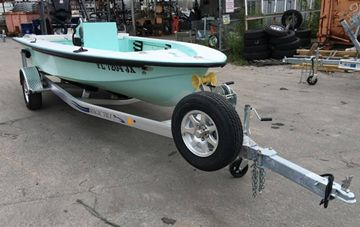 """Aluminum, Galvanized and CTR Boat Trailers by """"Magic Tilt"""""""