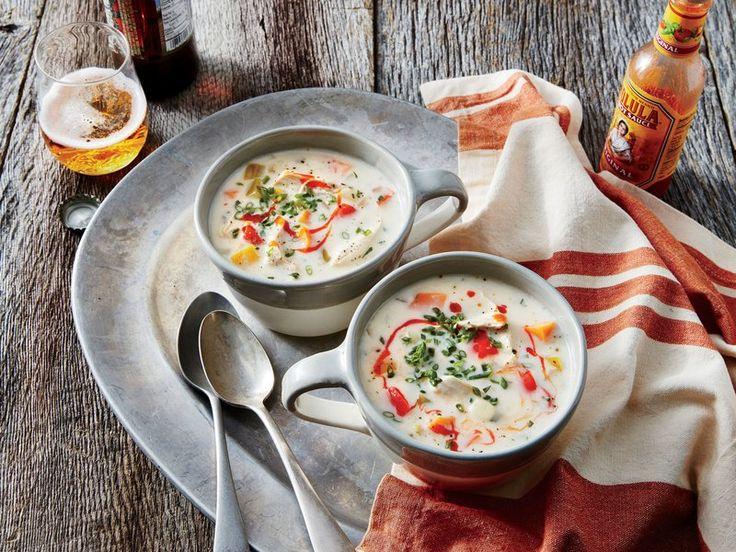 Chicken, Sweet Potato, and Corn Slow-Cooker Chowder Recipe