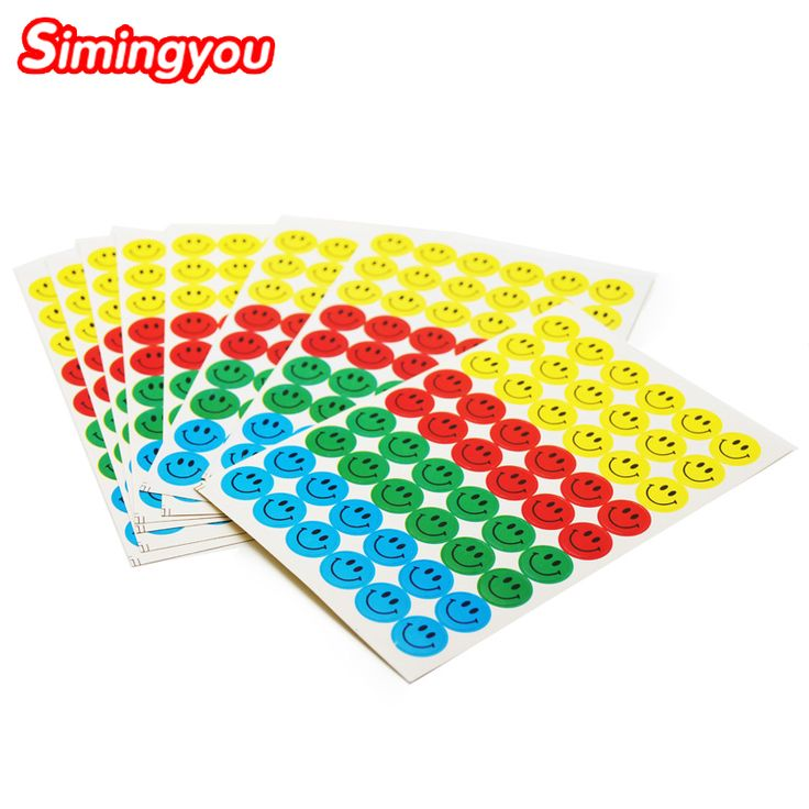 Simingyou 2017 Emoji Sticker Pack 540 Stickers Most Popular Emoji Smiling Face Stickers For Children Stickers Toys 10Pcs/Pack