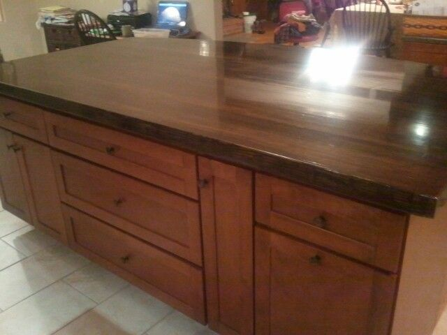 Bowling Alley Lane Countertop For The Home Pinterest