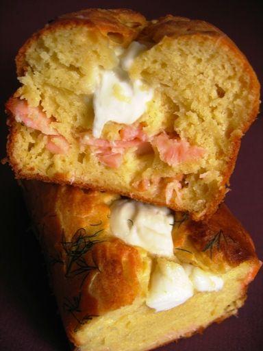 Recette Cake saumon et mozzarella