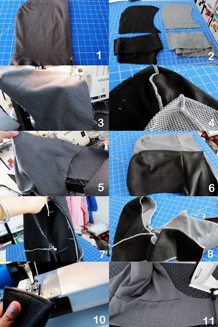 Guest Posting: Hooded Scarf Tutorial - Rae Gun Ramblings