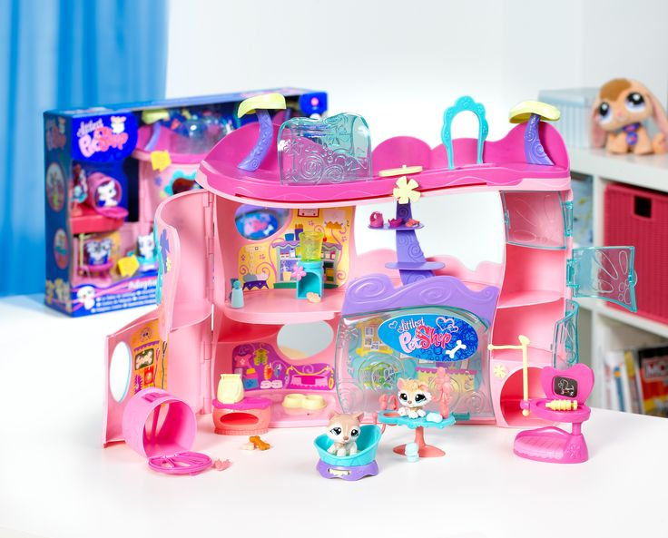 Biggest Littlest Pet Shop House Playset in Box w