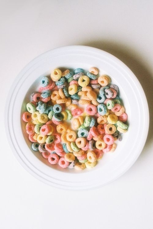 Fruit loops, i miss you and Mickey Mouse some days, it was so simple.