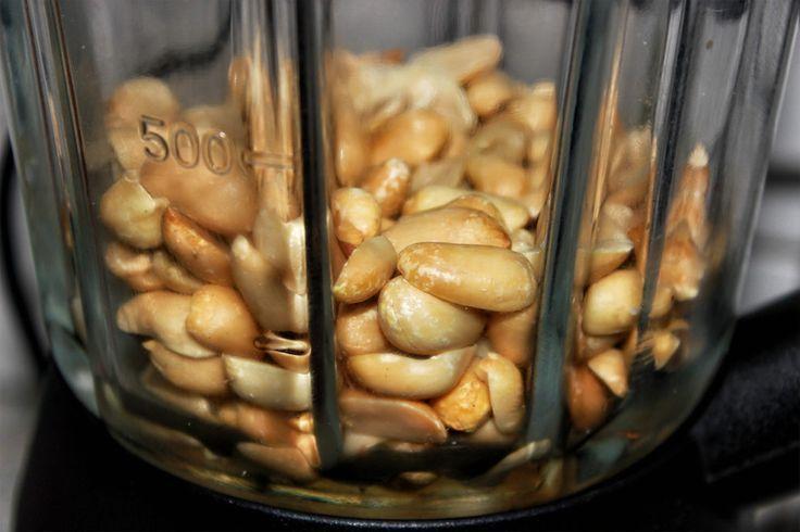 Erdnussbutter / Erdnuss selber machen – ohne Zucker – #Erdnussbutter #Erdnuss …..