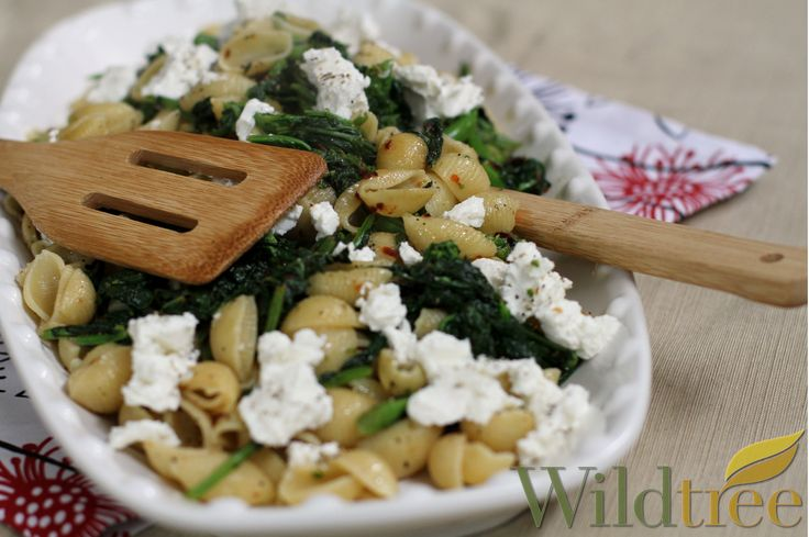 Pasta with Broccoli Rabe and Goat Cheese! www.Facebook.com ...